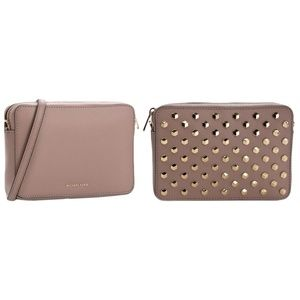 MICHAEL KORS Scout Studded Leather Crossbody Bag